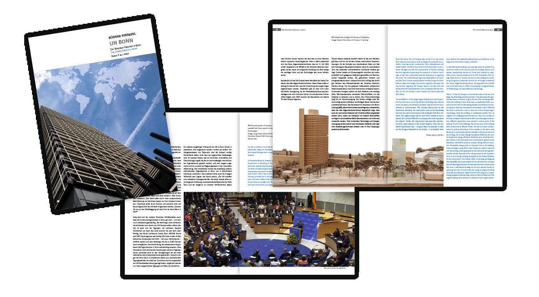 UN Broschüre, deutsch/englisch