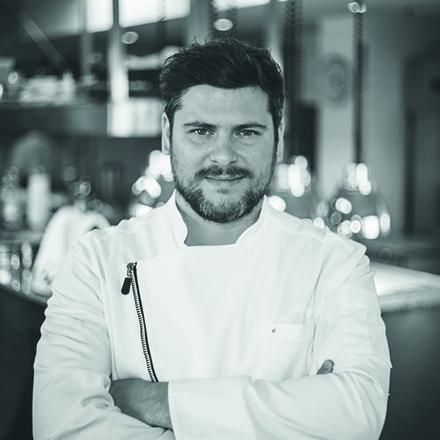 Daniel Gottschlich Sternekoch im Restaurant ox & Klee